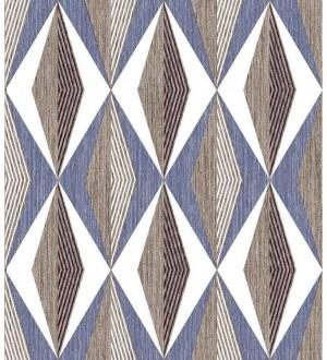 Papel pintado geométrico moderno Herald Pentagon 125871