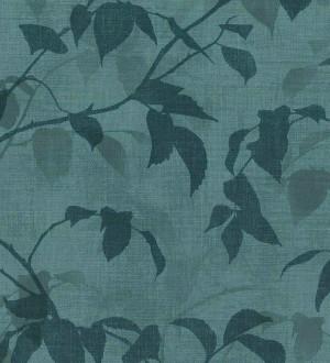 Papel pintado hojas tonos verdes Baltic Gardens 126025
