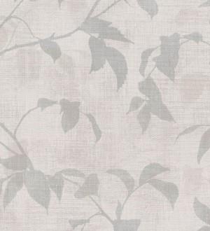 Papel pintado hojas tonos grises Baltic Gardens 126027