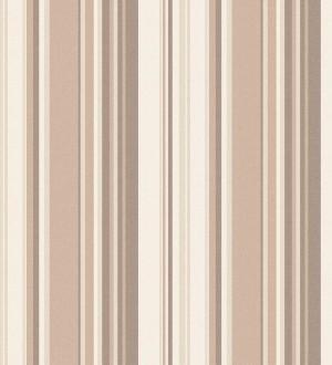 Papel pintado rayas desiguales tonos marrones Walter Stripes 124172