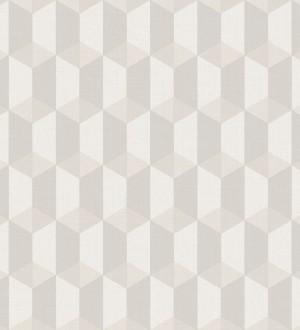 Papel pintado cubos geométricos estilo nórdico Otis Metrix 125220