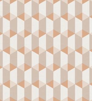 Papel pintado cubos geométricos estilo nórdico Otis Metrix 125221