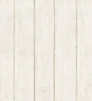 Papel pintado listones de madera clara Sines Port 125225