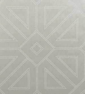 Papel pintado geométrico lujoso con incrustaciones de cristales de gel Cooper Place 679845