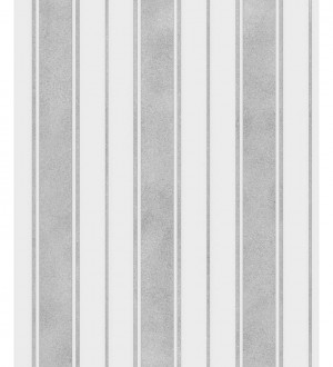 Papel pintado rayas desiguales grises Raya Richard 680101