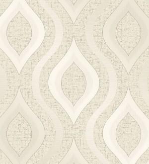 Papel pintado geométricos ondas elegantes Sidney Palace 680115