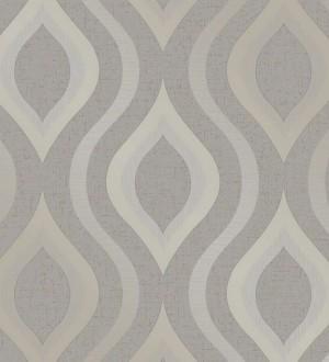 Papel pintado geométricos ondas elegantes Sidney Palace 680117