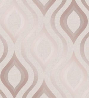 Papel pintado geométricos ondas elegantes Sidney Palace 680127