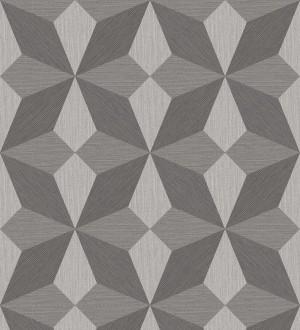 Papel pintado geométrico de estrellas Star Metrix 679253