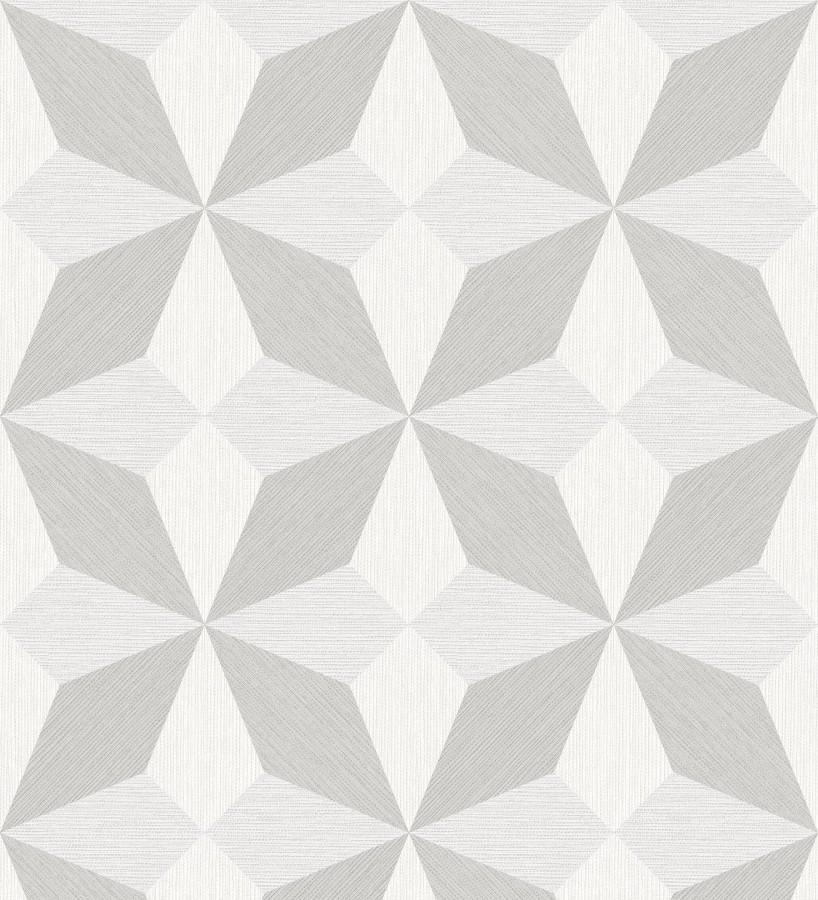 Papel pintado geométrico de estrellas Star Metrix 679254
