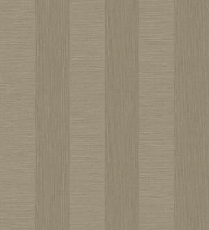 Papel pintado raya metalizada tonos marrones Raya Torino 679261