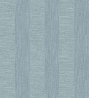Papel pintado rayas metalizadas tonos celestes Raya Torino 679262
