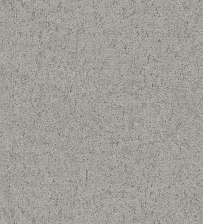 Papel pintado texturizado gris Preston Stone 679270