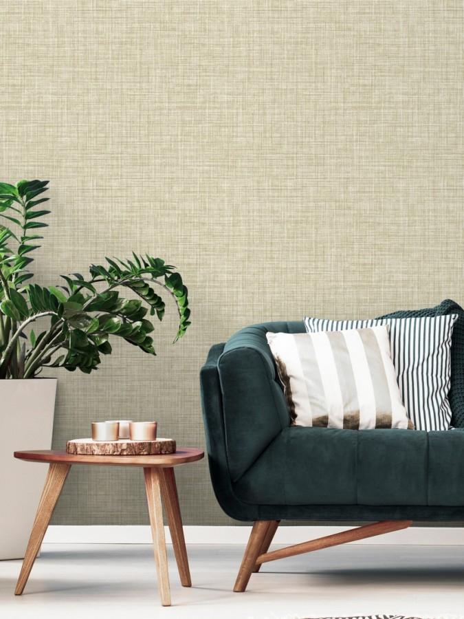 Papel pintado fibra vegetal textura lisa Di Renzo 679388