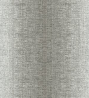 Papel pintado de rayas anchas difuminadas efecto textil Pacific Fabric 679459