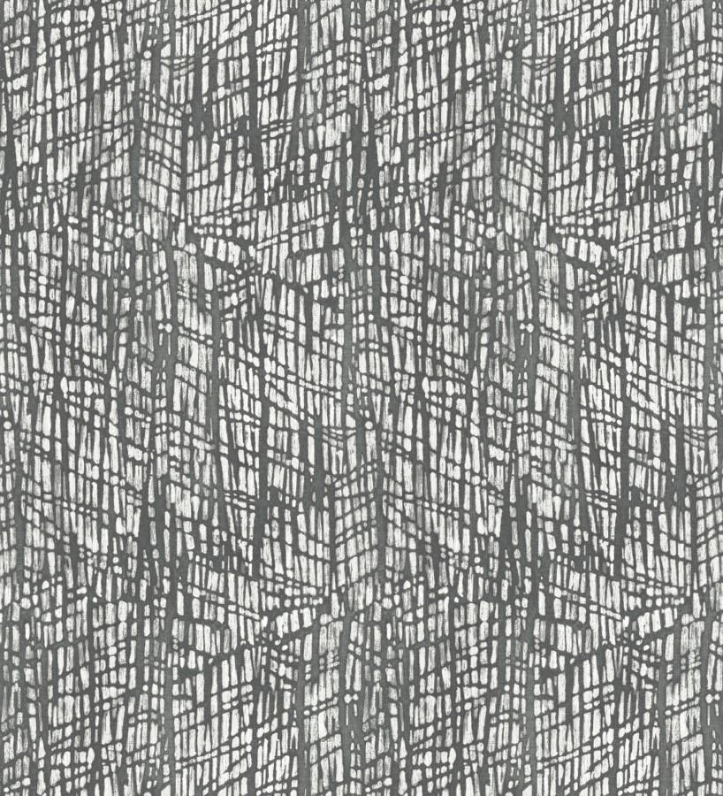 Papel pintado moderno de trazos grises Avalon 679464