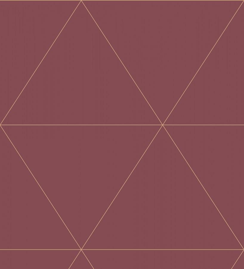 Papel pintado geométrico rombos grandes estilo art déco Windsor 679477