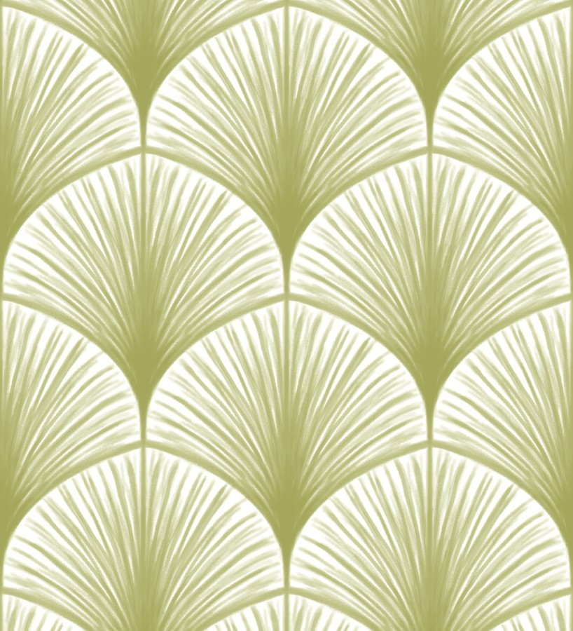Papel pintado hojas de palmeras africanas Nairobi 679480