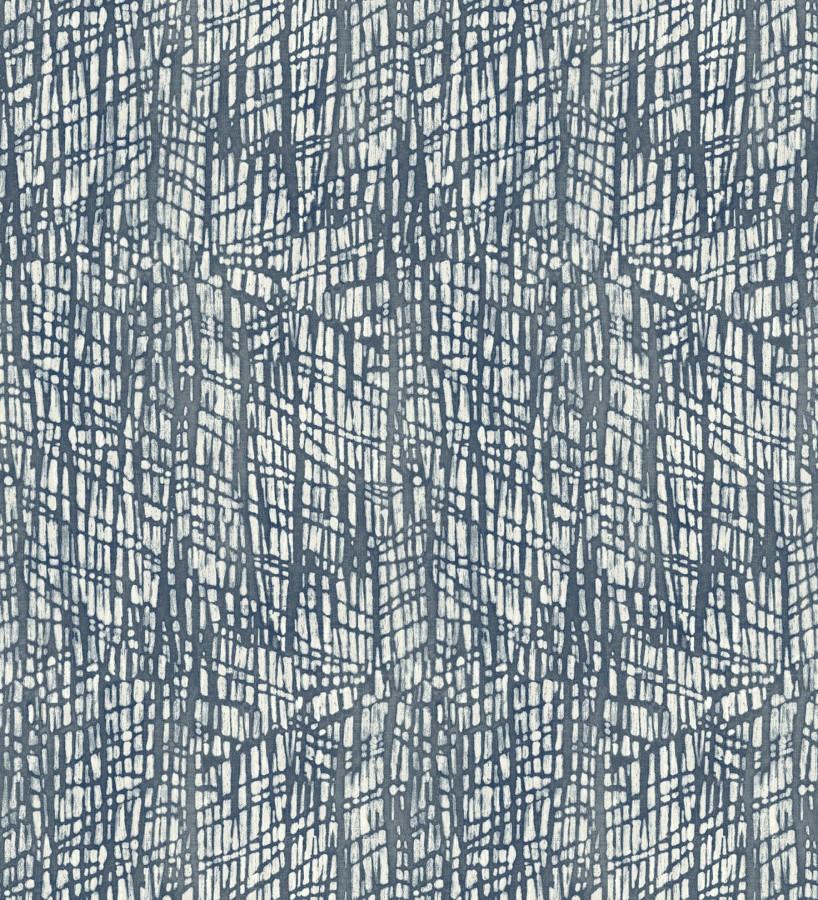 Papel pintado moderno de trazos azules Avalon 679483