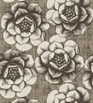 Papel pintado flores grandes estilo nórdico Magnolia 679490