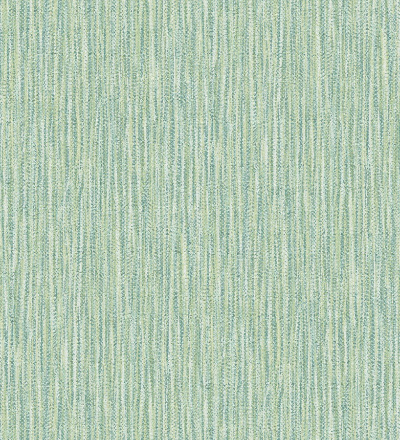 Papel pintado rayado con textura estilo tropical tonos verdes Belize 679539