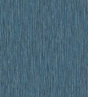Papel pintado rayado con textura estilo tropical tonos azules Belize 679541