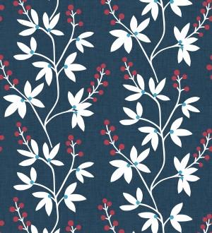 Papel pintado flores y ramas estilo nórdico Dover Garden 679556