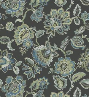 Papel pintado de flores paisley de la Polinesia Polynesia 679581