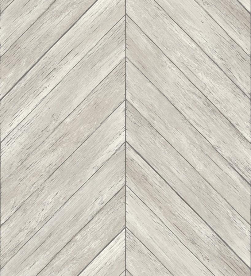 Papel pintado listones de madera formando espigas Porto Mendes 679588