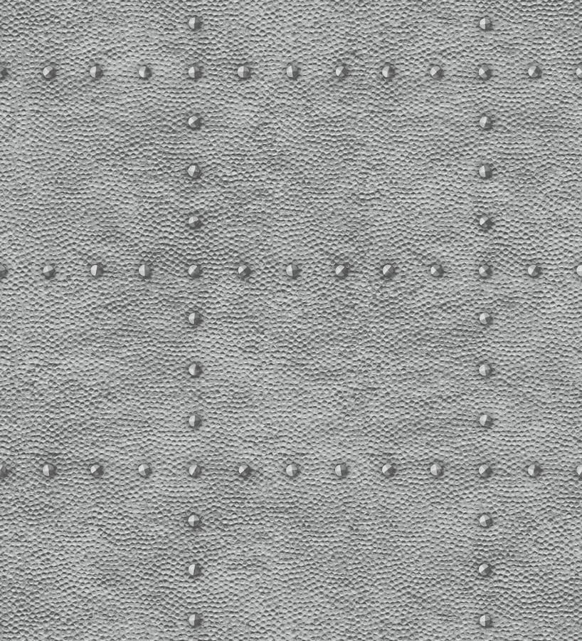 Papel pintado chapa con remaches efecto metalizado Austin Factory 679592