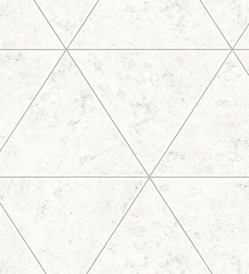Papel pintado geométrico efecto hormigón pulido Nantes 679597
