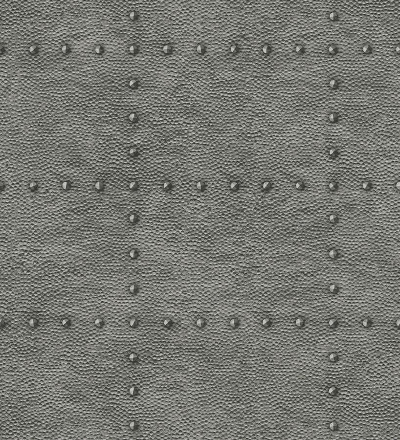 Papel pintado chapa con remaches efecto metalizado Austin Factory 679598