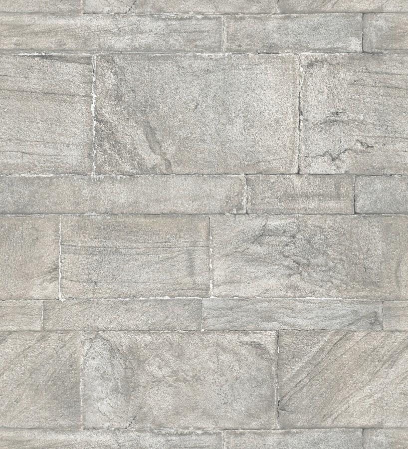 Papel pintado muro de piedras desiguales Cardiff Stone 679604