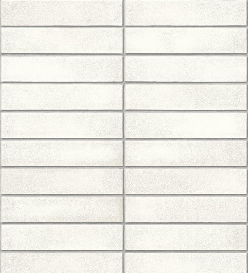 Papel pintado azulejos delgados rectangulares Walton Place 679607