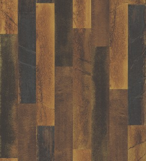 Papel pintado piedra pizarra en listones verticales minimalista Lisboa 679627