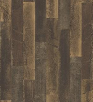Papel pintado piedra pizarra en listones verticales minimalista Lisboa 679629