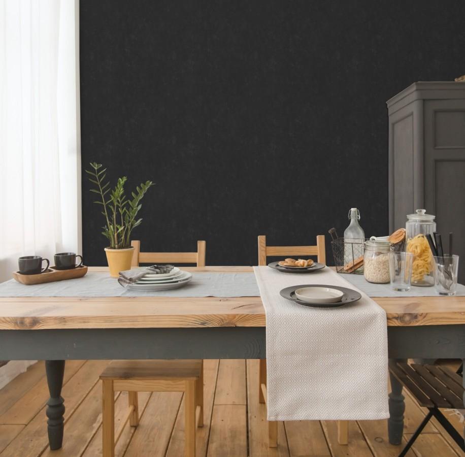 Papel pintado pizarra natural para escribir encima con tizas Blackboard 679647