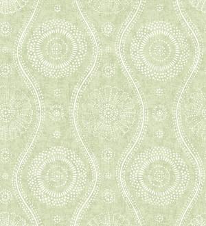 Papel pintado retro estilo hindú Retro Blomst 679670