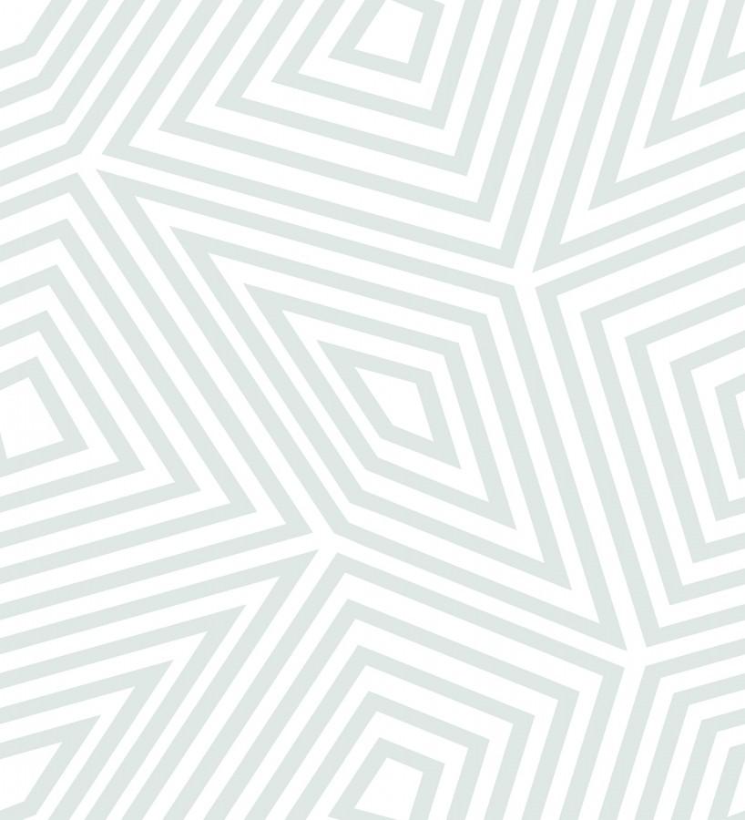 Papel pintado laberinto geométrico Magnus 679675