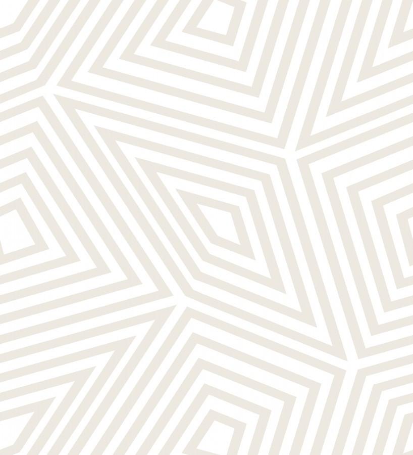 Papel pintado laberinto geométrico Magnus 679677