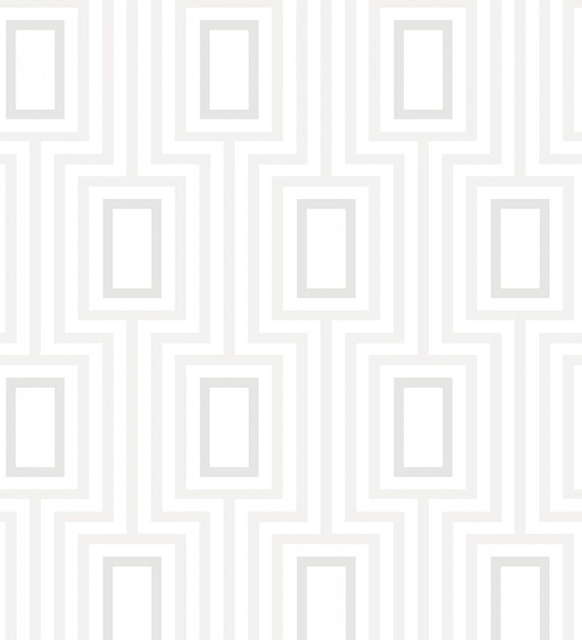 Papel pintado de rectángulos formando un laberinto Clarion 679683
