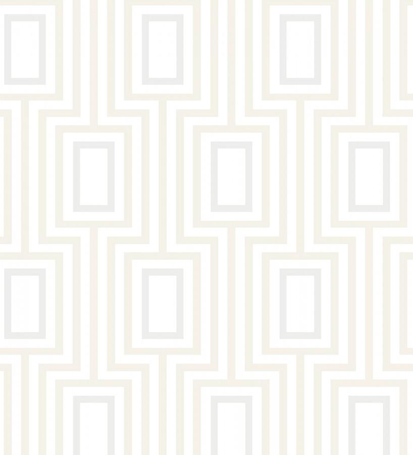 Papel pintado de rectángulos formando un laberinto Clarion 679684