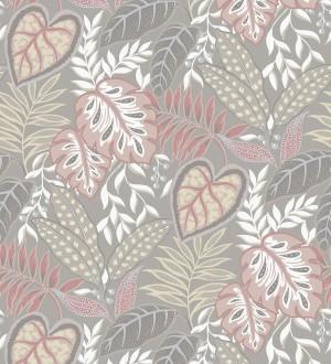 Papel pintado hojas tropicales estilo inglés Belfast Garden 679707