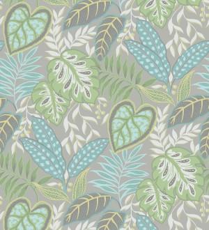 Papel pintado hojas tropicales estilo inglés Belfast Garden 679708