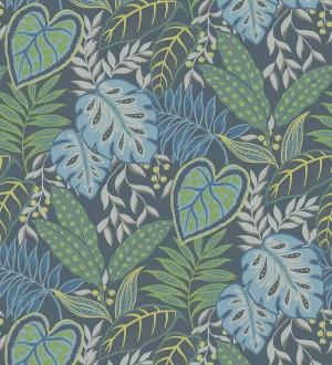 Papel pintado hojas tropicales estilo inglés Belfast Garden 679711