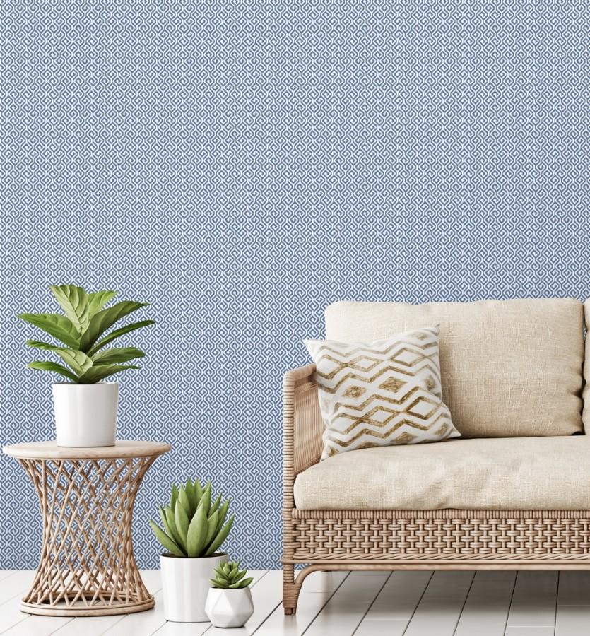 Papel pintado geométrico dibujo minimalista Melbourne 679717