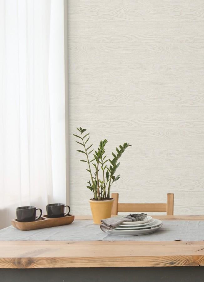 Papel pintado horizontal Tavira Wood 679770