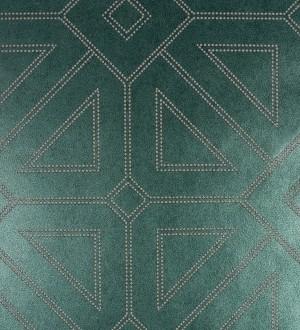 Papel pintado geométrico lujoso con incrustaciones de cristales de gel Cooper Place 679844