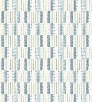 Papel pintado de lineas abstractas con textura textil Trevor Ornaments 680591