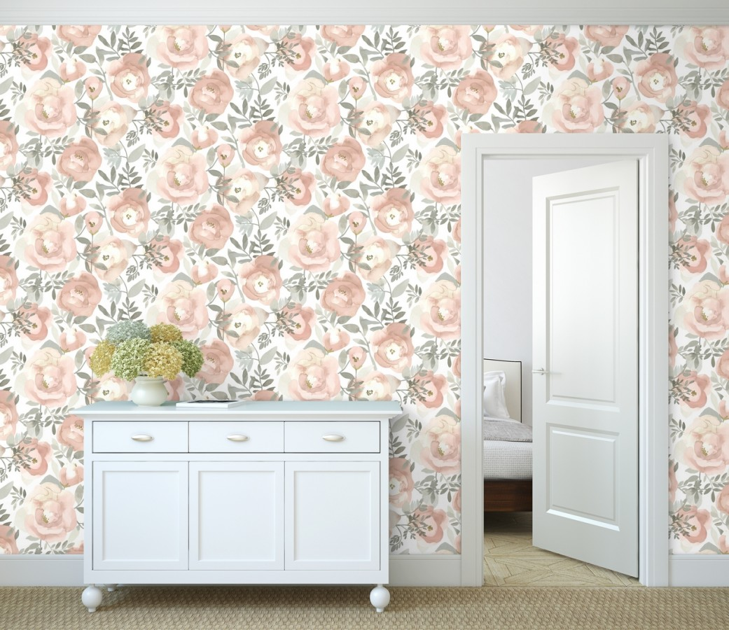 Papel pintado Camellias Garden 680625 Camellias Garden 680625
